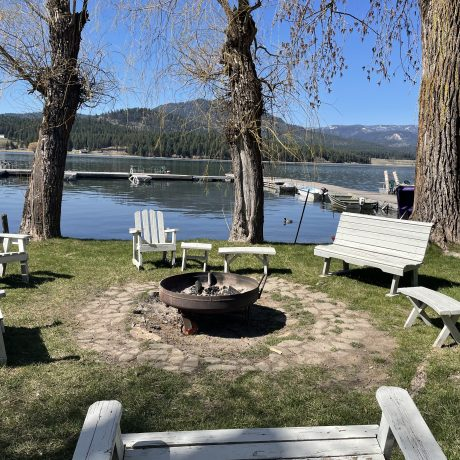 Chars / Bench around Fire Pit Image